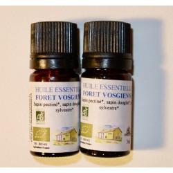 Lot de deux huiles essentielles forêt vosgienne