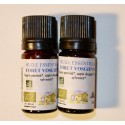 Lot of two essential oils from the French Vosges forest